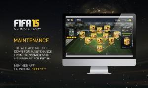 Web-приложение FIFA 15: Ultimate Team