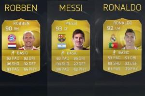 Карточки игроков FIFA 15: Ultimate Team