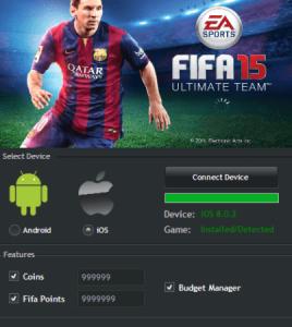 Взлом монет FIFA 15 UT