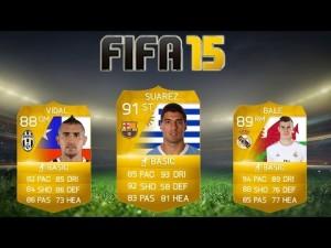 Монеты FIFA15 - карточки футболистов