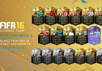 FUT16 Team Of The Week #4