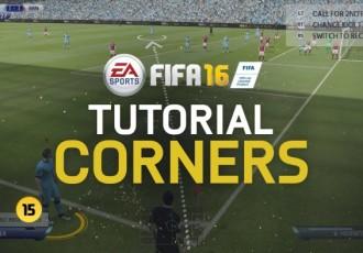 Эффективный розыгрыш углового в FIFA 16